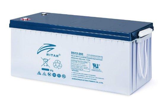 RITAR-DG12-200-12-Volt-200-Amper-Solar-Aku