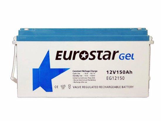EUROSTAR-150-amper-saat-Ah-12V-Solar-Jel-Akü