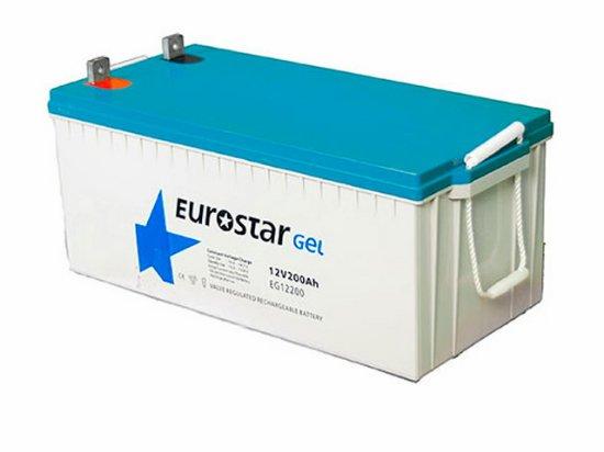 EUROSTAR-200-amper-saat-Ah-12V-Solar-Jel-Akü