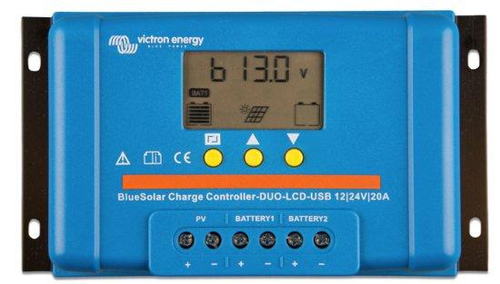 Victron BlueSolar PWM-LCD&USB 12/24V-20A resmi