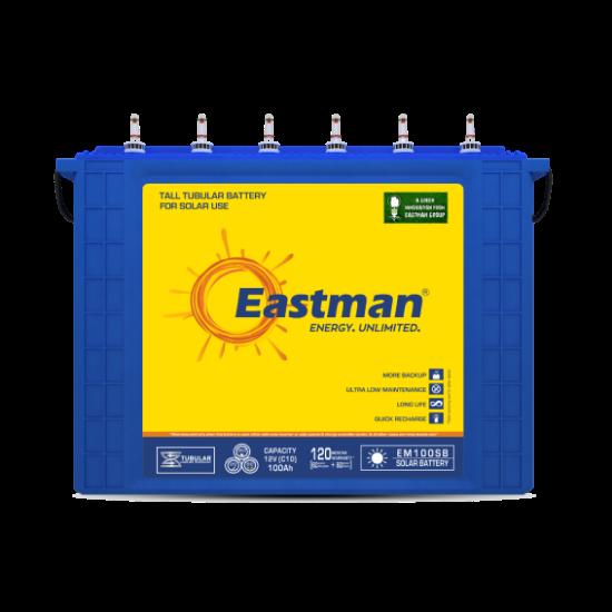 Eastman Tubular Solar Jel Akü 100 Ah resmi