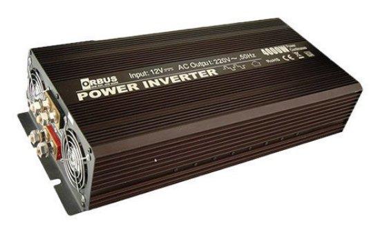 Orbus-4000 watt inverter-modifiye-sinus-12V