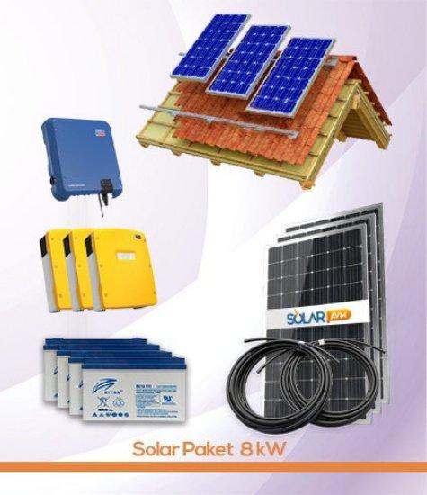 Solar Paket 8 kW Off Grid SMA inverter