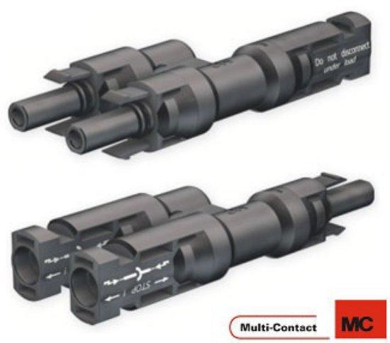 Staubli-Multicontact-MC4-PV-AZB4-Branş-Paralel-Konnektörü